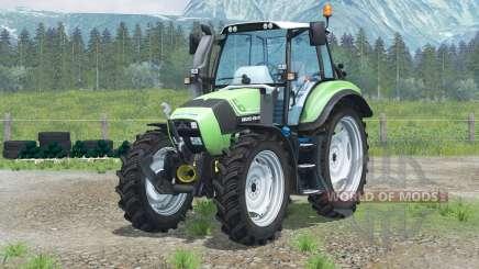 Deutz-Fahr Agrotron TTV 430〡narrow wheels for Farming Simulator 2013