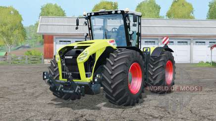 Claas Xerion 4500 Trac VꞒ for Farming Simulator 2015