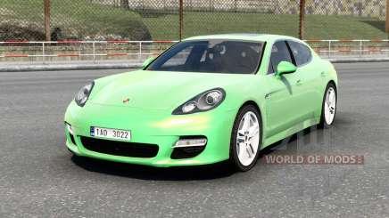 Porsche Panamera Turbo (970) 2009 v6.0 for Euro Truck Simulator 2