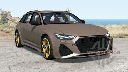 Audi RS 6 Avant (C8) 2019 for BeamNG Drive