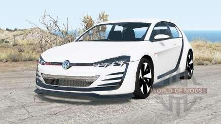 Volkswagen Design Vision GTI 2013 for BeamNG Drive