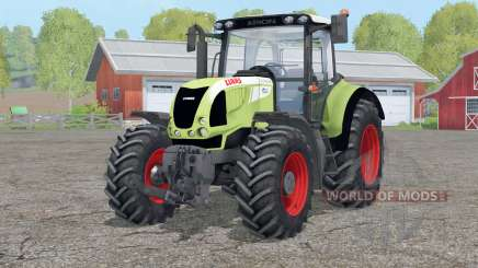 Claas Arion 620〡animated front suspension for Farming Simulator 2015