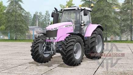 Massey Ferguson 7700 series〡pink for Farming Simulator 2017