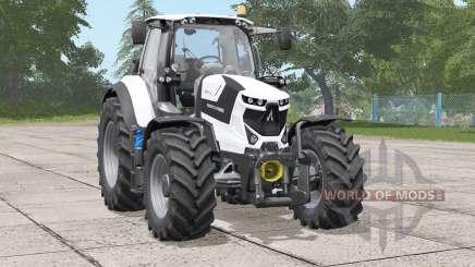Deutz-Fahr Serie 6 TTV Agrotron〡white edition for Farming Simulator 2017