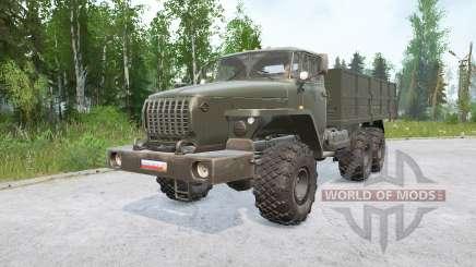 Ural-4320〡swoir modules for MudRunner