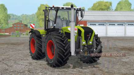 Claas Xerion 3300 Trac VC〡extra weights for Farming Simulator 2015