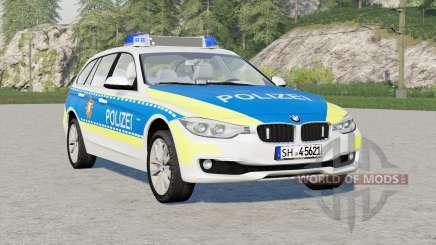 BMW 318d Touring Polizei FuStW (F31) 2015〡Schleswig-Holstein for Farming Simulator 2017