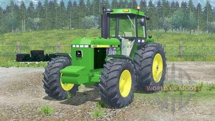 John Deere 4455〡full lights system for Farming Simulator 2013