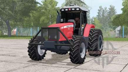 Massey Ferguson 7180〡light adjusted for Farming Simulator 2017