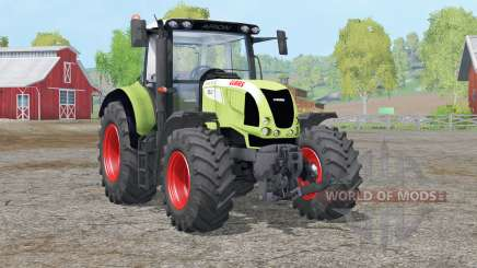 Claas Arion 620〡dynamic exhausting system for Farming Simulator 2015