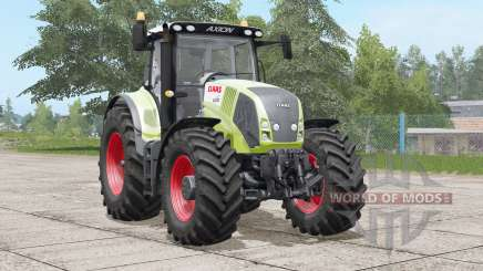 Claas Axion 800〡front hydraulic or weight for Farming Simulator 2017