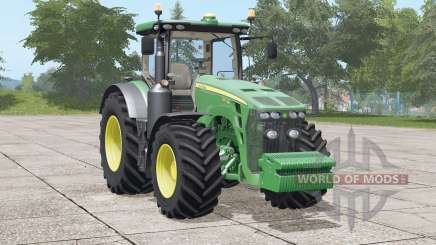 John Deere 8R series〡new Michelin tire texture for Farming Simulator 2017