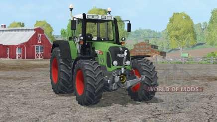 Fendt 820 Vario TMS〡animated hydraulics for Farming Simulator 2015