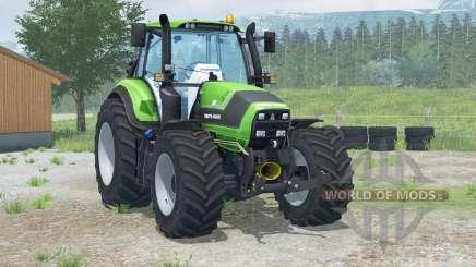 Deutz-Fahr 6190 TTV Agrotroᵰ for Farming Simulator 2013