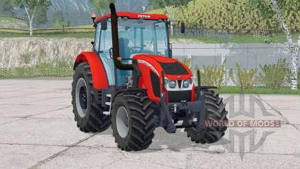 Zetor Forterra 140 HSX〡animated dashboard for Farming Simulator 2015