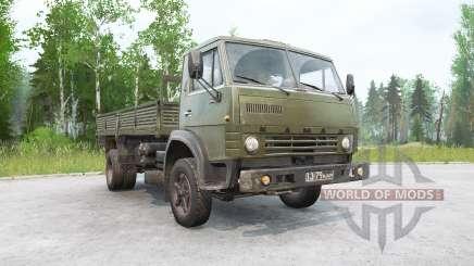 Kamaz-4325 4 x2 for MudRunner