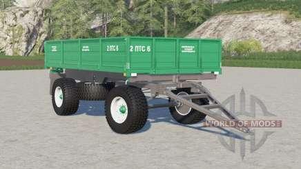 2PTS-6〡s choice of wheels for Farming Simulator 2017