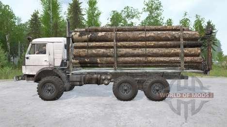 KamAZ-43114 6х6 for Spintires MudRunner