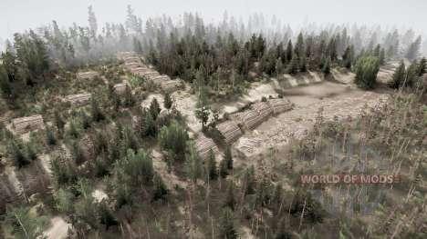 Abandoned plot for Spintires MudRunner