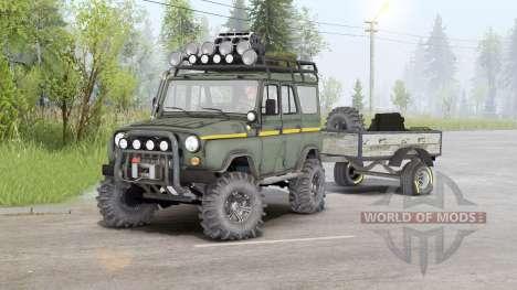 UAZ-31514 v1.5 for Spin Tires