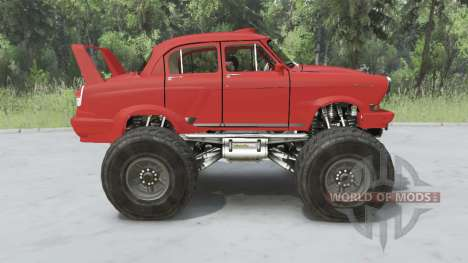 GAZ-21 Monster for Spin Tires