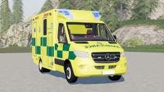 Mercedes-Benz Sprinter UK Ambulance for Farming Simulator 2017