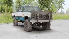 Dodge Power Ram 250 Club Cab 1990 for Spin Tires