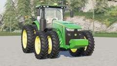 John Deere 8R series〡44 wheels configurations for Farming Simulator 2017
