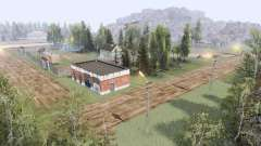 Village in the mountains v3.0 for Spin Tires