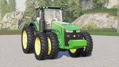 John Deere 8R series〡wing configuration for Farming Simulator 2017