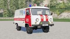 UAS-3741 ambulance for Farming Simulator 2017