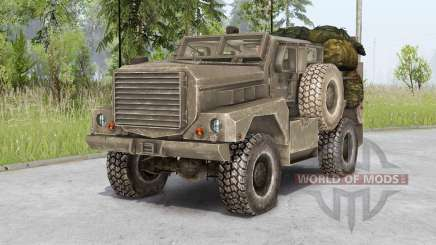 Cougar 4x4 MRAP 2003 for Spin Tires
