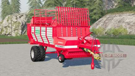 Pottinger Ernteboss 2〡twin tyres optional for Farming Simulator 2017
