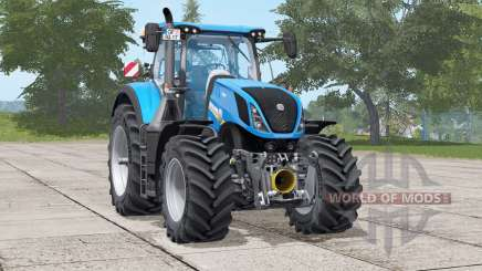 New Holland T7 series〡selectable engine power for Farming Simulator 2017