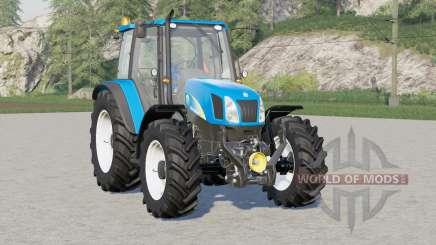 New Holland T5000 series for Farming Simulator 2017