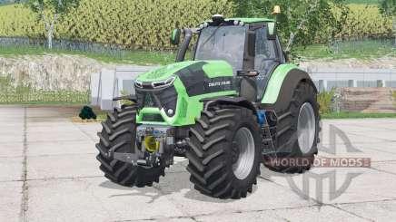 Deutz-Fahr 9340 TTV Agrotron〡extra weights for Farming Simulator 2015
