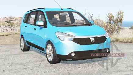Dacia Lodgy 2012 for BeamNG Drive
