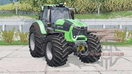 Deutz-Fahr 9340 TTV Agrotron〡speed increased for Farming Simulator 2015