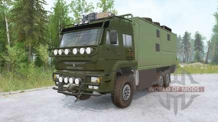 Kamaz-635050 for MudRunner