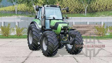 Deutz-Fahr Agrotron TTV 430〡change wheels for Farming Simulator 2015