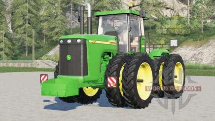 John Deere 9020 serieᵴ for Farming Simulator 2017