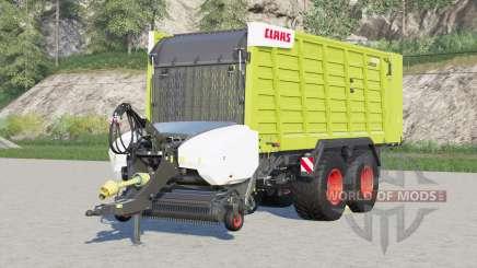 Claas Cargos 9500〡4 tyre brand configurations for Farming Simulator 2017