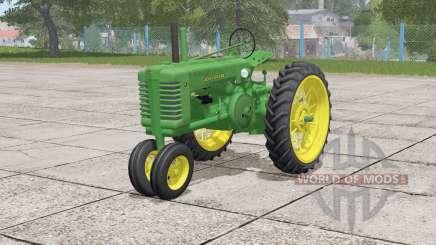 John Deere Model A〡wheels selection for Farming Simulator 2017