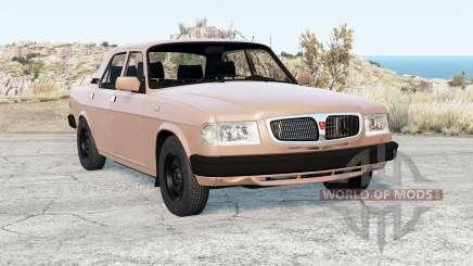 GAZ-3110 Volga v2.0 for BeamNG Drive