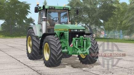 John Deere 8400〡5 tire type for Farming Simulator 2017