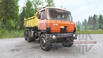 Tatra T81ƽ for MudRunner