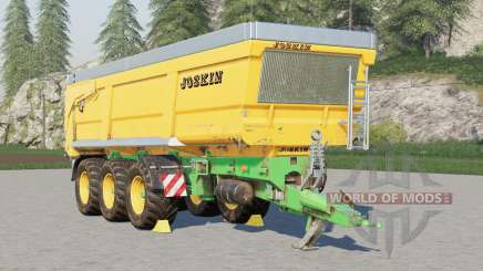 Joskin Trans-Space 8000-27TRC150〡can hold 2000000 liters for Farming Simulator 2017