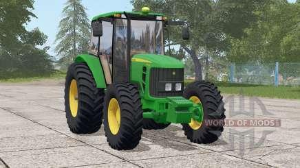 John Deere 6110 J for Farming Simulator 2017