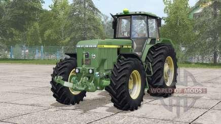 John Deere 4055 serieᵴ for Farming Simulator 2017