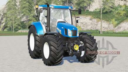 New Holland T6 series〡power selection for Farming Simulator 2017